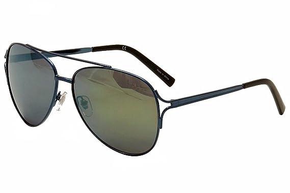 22377499d3b45 Nicole Miller Women s Cooper C03 Navy Black Fashion Aviator Sunglasses 59mm