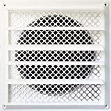 5 exhaust vent cover - New Aroma Trees Dryer Vent Bird Stop - Dryer Vent Grill - Pest Guard - Stops Birds Nesting In Dryer Vents and Bathroom Exhaust Vents Pipe, Customizable 3