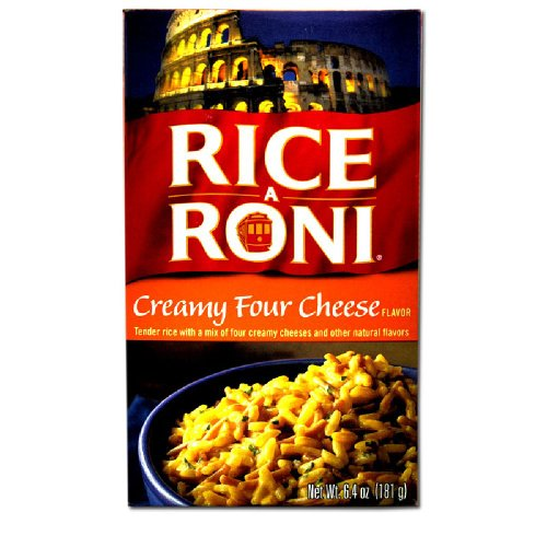 Rice-A-Roni CREAMY FOUR CHEESE Flavor 6.4oz (2 pack)