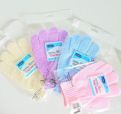 Exfoliating Gloves - 4 Pack b