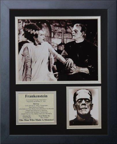 "Legends Never Die ""The Bride of Frankenstein. Framed Photo Collage, 11 x 14-Inch"