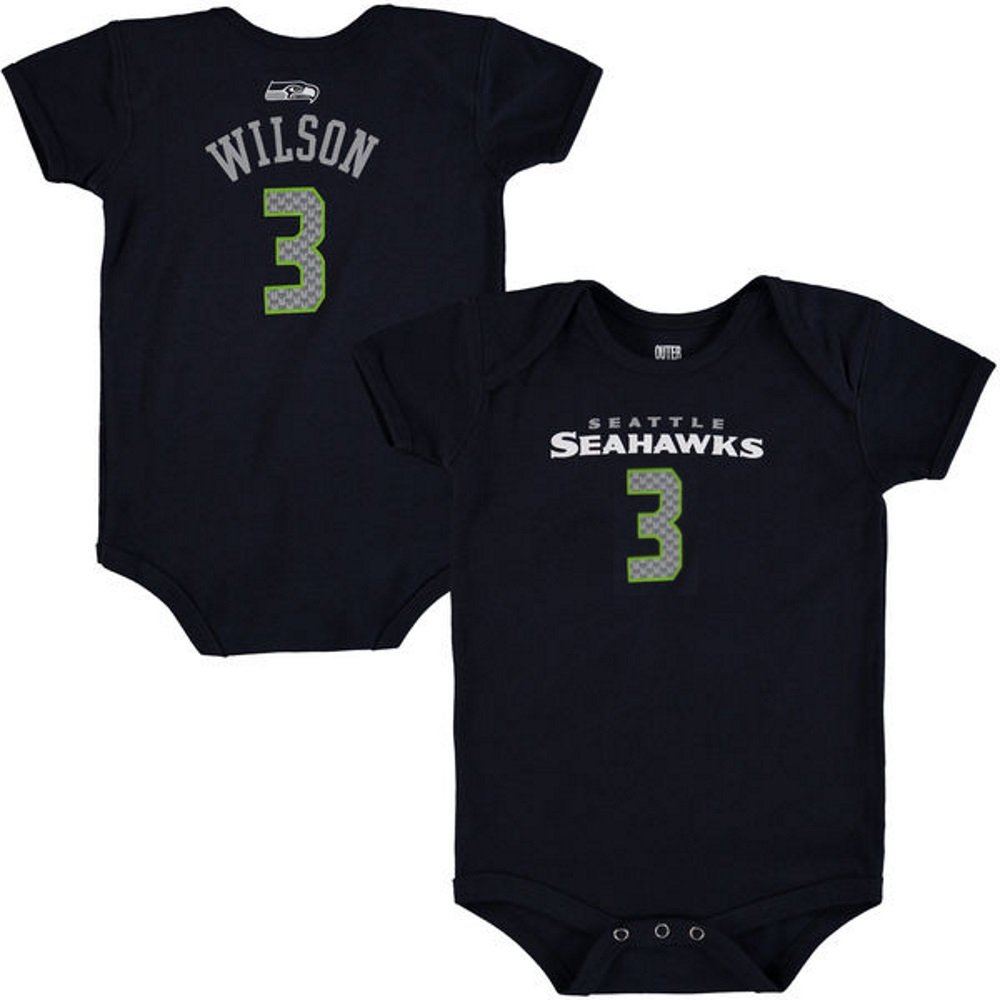 new products 1123f c5e3f Amazon.com: Outerstuff Russell Wilson Seattle Seahawks Baby ...