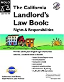 The California Landlord's Law Book, David Brown and Janet Portman, 141330141X
