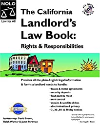 The California Landlord's Law Book: Rights and Responsibilities (California Landlord's Law Book Vol I :  Rights and Responsibilities)