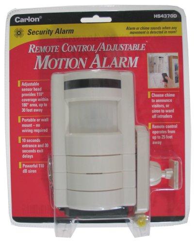 Lamson HS4370D Remote Control Adjustable Motion Alarm