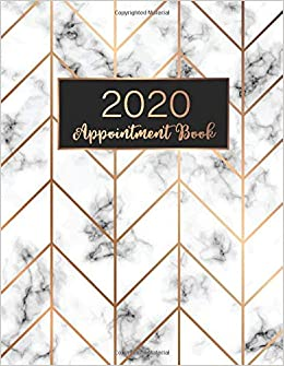 2020 Appointment Book Planner Weekly Appointment Book//Planner 2020 Daily//Hourly