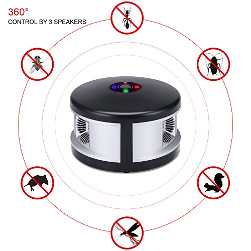 Savhome Ultrasonic Pest Repeller Spider Repellent With
