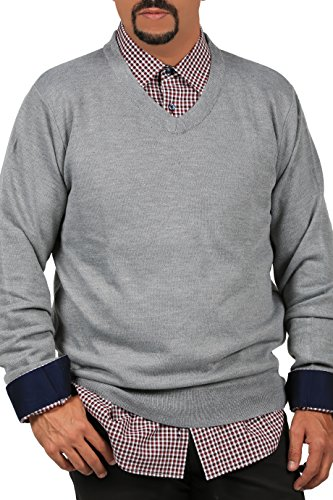 INGEAR Cardigan Sweater Casual Soft V Neck Long Sleeve Knit Pullover Sweatshirt (Small, Grey 1) ()