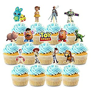 39 Decorations for Toy Story Cupcake Toppers Set Birthday Cake Party Supplies Decor