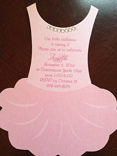 Amazoncom Ballet party invitations Ballet baby shower