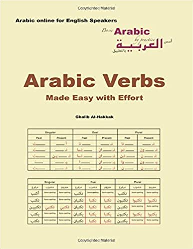 Amazon.com: Arabic Verbs Made Easy with Effort: Tables, exercises ...