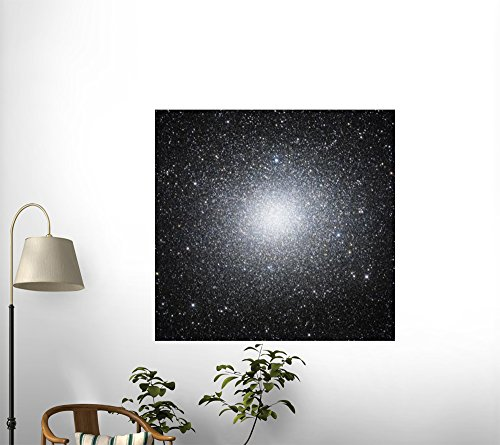 Stocktrek Images Omega Centauri or Ngc 5139 Is a Globular Cluster of Stars Seen in the Constellation of Centaurus Peel and Stick Fabric Wall Sticker by Wallmonkeys Wall Decals