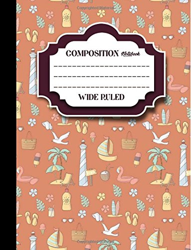 200 Page Composition Notebook - 7