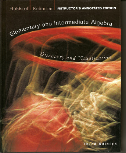 Elementary and Intermediate Algebra: Discovery and Visualization, 3rd Edition pdf epub