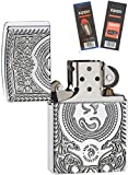Zippo 28962 Anne Stokes Dragon Lighter Withflint & Wick Gift Set