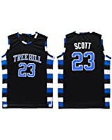 NO.23 The film version of One Tree Hill Nathan Scott Need double stitched mesh basketball jersey Size S-XXL