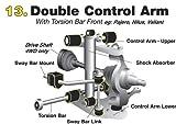 Whiteline W11057 Front Steering Idler Arm Bushing