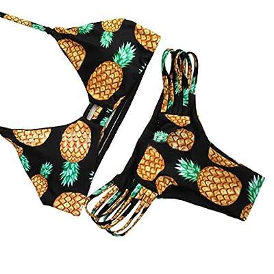 Zmart Women Sexy Padded String Bikini Swimwear 2PCS