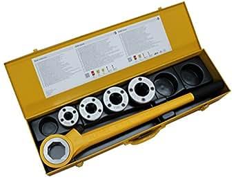 Rems eva 520015 - Terraja manual con cabezal de cambio rápido (1/2'' - 5/4'')