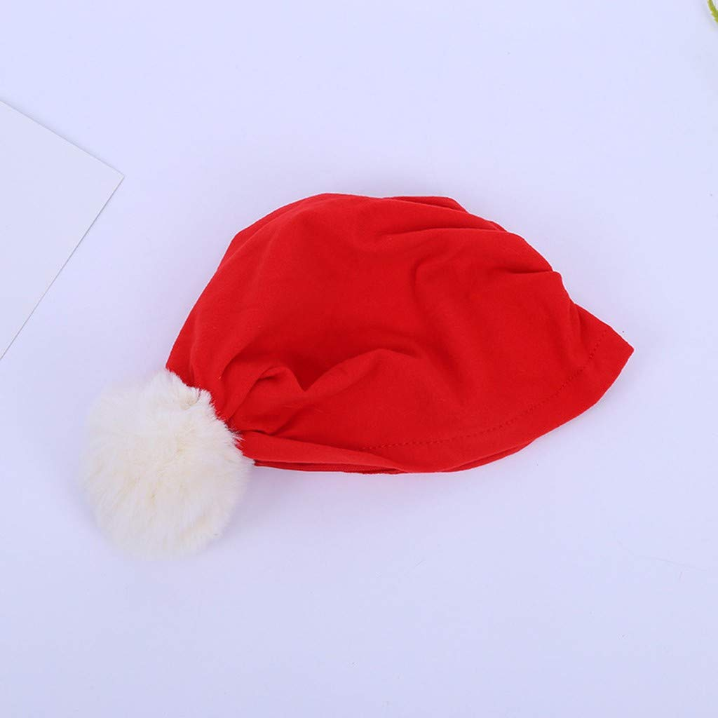 Cappello di Natale Gonna da Principessa Bambina Neonata Natale Harpily Gonna Tulle Rossa Bambina Natale Gonna da Ballo Fantasia per Feste Ballet Latino Flamenco Bambina 3-8 Anni