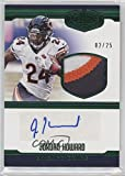 2016 Panini Plates & Patches - Rookie Patch Autographs - Green #12 - Jordan Howard