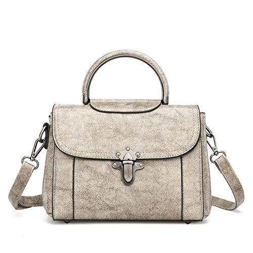 A Pacchetto Moda Ms Femminile Grey 5 Messenger Pu 24 Bag Cm Borsa Tendenza 7 Quadrato Elegante 16 Casual Tracolla Zhwei Piccolo Ux2415 n0qwftOSz