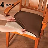 Voilamart Chair Seat Covers Stretchable Dining Cover Slipcovers Soft Protectors For