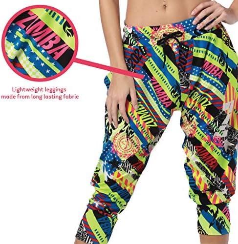 Zumba Capri Pantalon Harem de Entrenamiento Fitness Mallas de Deporte de Mujer 4
