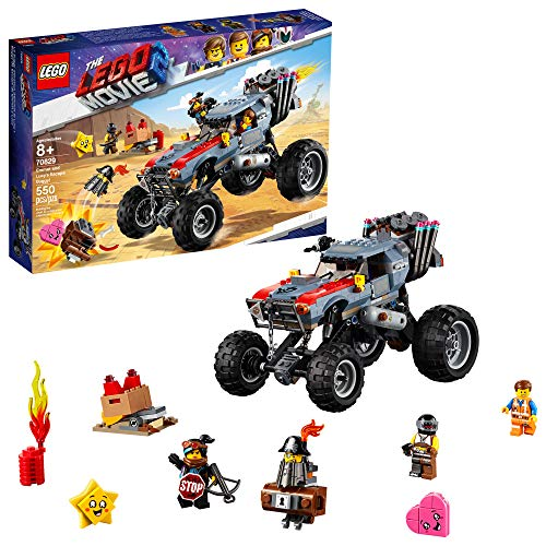 - LEGO THE LEGO MOVIE 2 Escape Buggy 70829 Building Kit, Build and Play Toy Car with Action Heroes, New 2019 (550 Pieces)