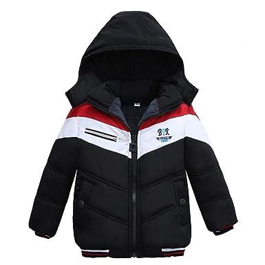 081b0e37a Staron Kids Boys Coat Children Winter Thick Padded Jacket Warmer Outwear  Clothes (1-2