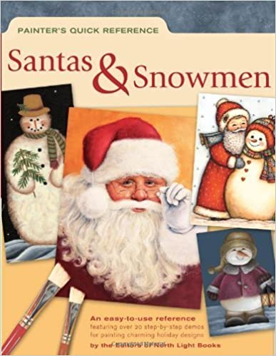 Painter's Quick Reference - Santas & Snowmen by North Light Books(April 23, 2005)