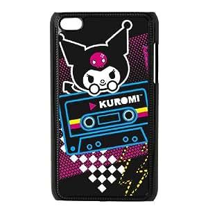 iPod Touch 4 Case Black Kuromi Cheeky but Charming Uxfqp