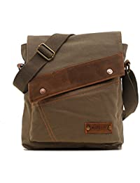 34741cc8cce1 Canvas Messenger Bags Shoulder Bags Crossbody Bags Purse Daypack for Men  Women