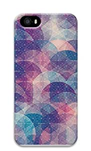 iPhone 5 5S Case Abstract Circles Connected Dots Pattern 3D Custom iPhone 5 5S Case Cover
