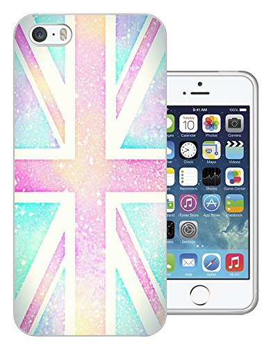 002980 - Vintage Galaxy Union Jack British Flag Design iphone 4 4S Fashion Trend CASE Gel Rubber Silicone All Edges Protection Case Cover