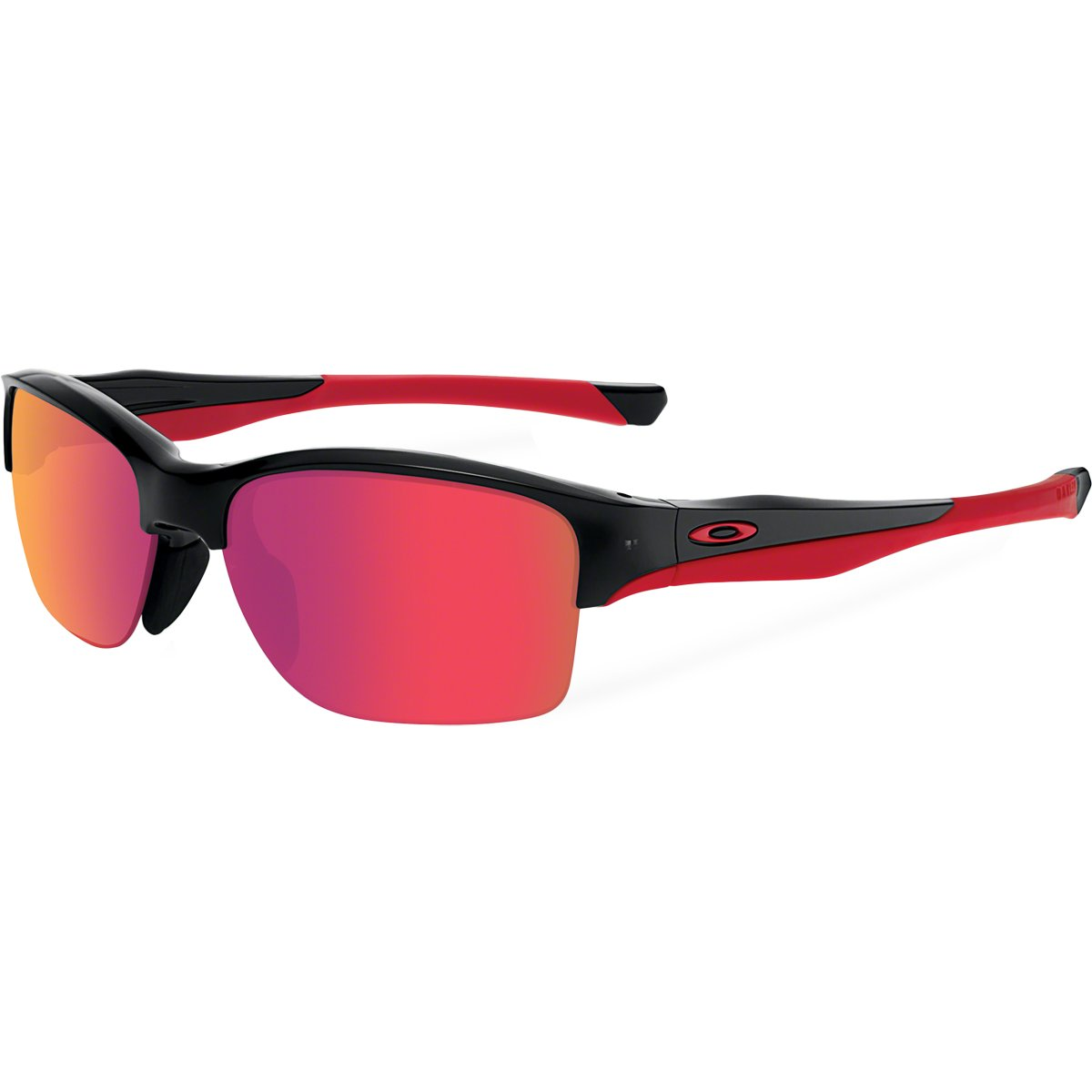 cb5c600526e Amazon.com  Oakley Halflink Sunglasses One Size Polished Black  Sports    Outdoors