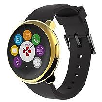 ZeRound Smartwatch (yellow Gold/black)