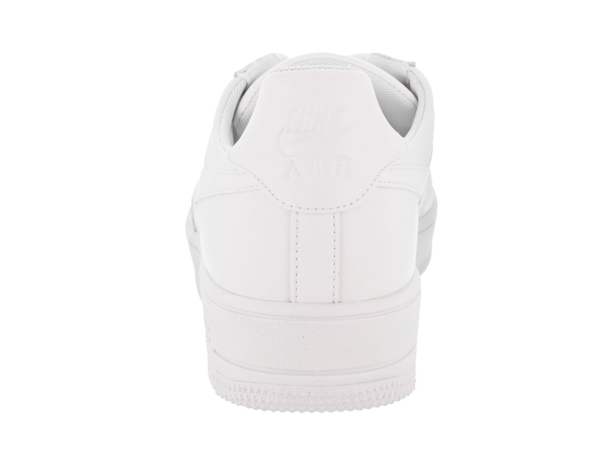 NIKE Men's Air Force 1 Ultraforce Leather Basketball Shoe B07435N5BQ 12 D(M) US|White/White