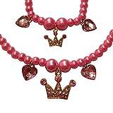 Best Disney Diamond Bracelets - EverKid Charm Bracelet & Necklace Set for Princess Review