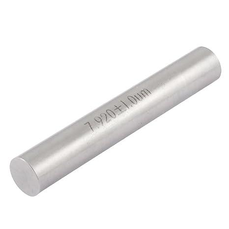 Industry 7.92mm Diameter 50mm Long Pin Gage Gauge w Storage Box