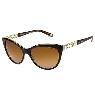 faa9408dd008 Tiffany TF4119 8134-3B Tortoise TF4119 Cats Eyes Sunglasses Lens Category 2  Siz at Amazon Women s Clothing store