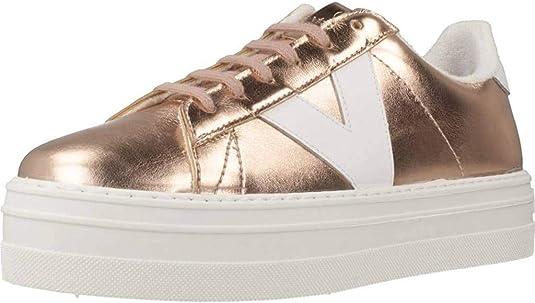 victoria Barcelona Deportivo Metal, Zapatillas Altas para Mujer: Amazon.es: Zapatos y complementos