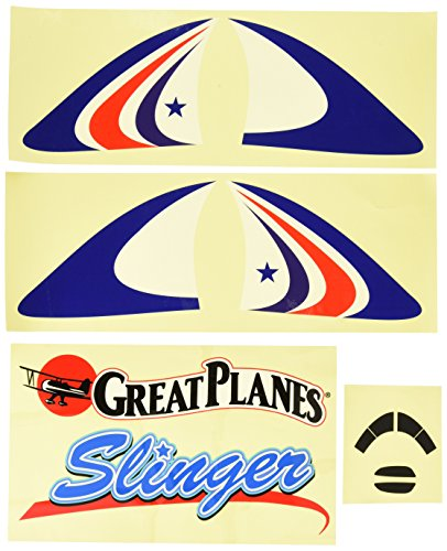 Great Planes Set Decal (Great Planes Decal Set Slinger ARF)