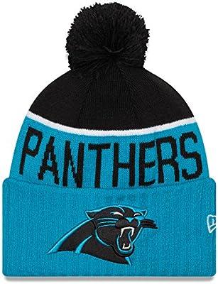 6f4e8e5a74fba4 New Era Men's NFL 2015 Carolina Panthers Sport Knit Hat Blue/Black Size One  Size