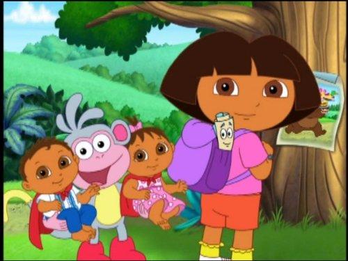 Happy Birthday, Super Babies! (Dora The Explorer Happy Birthday Super Babies)
