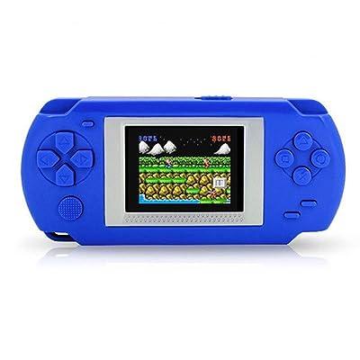 """aaerp Consola de Juegos, videoconsola de Mano Classic Retro Video Gaming Player/LCD DE 2,5""""DE Colores integrada en 268 Juegos: Electrónica"""