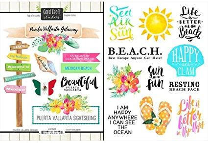 Scrapbook Customs Puerto Vallarta Getaway Scrapbook Kit