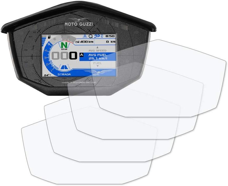 Speedo Angels Displayschutzfolie Tachoschutzfolie Für Moto Guzzi V85 Tt 2017 2 X Ultra Klar 2 X Entspiegelt Auto