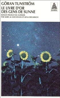 Le livre d'or des gens de Sunne par Tunström