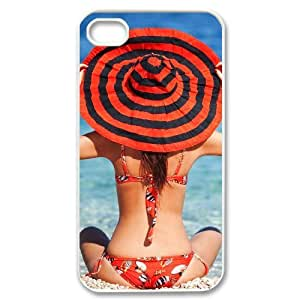 Hard Shell Case Of Bikini Customized Bumper Plastic case For Iphone 4/4s